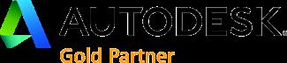 Logo Gold Partner Autodesk